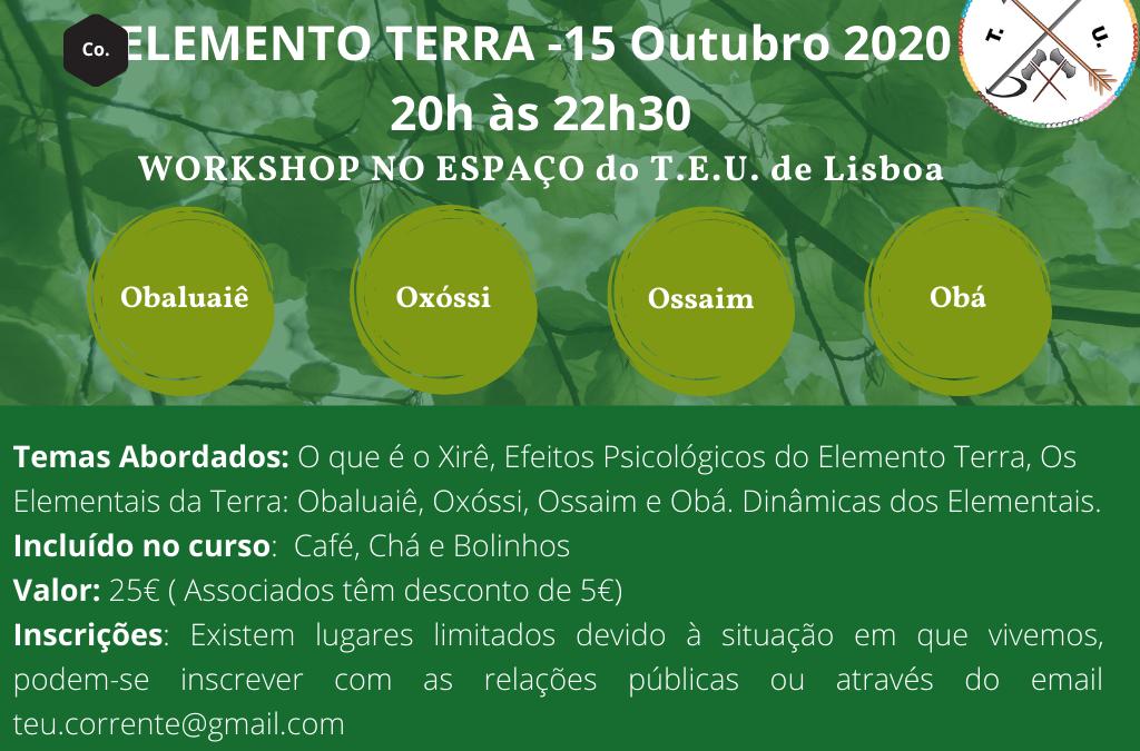 Workshop Elemento Terra